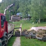 doprava travnikovych kobercov