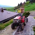 malotraktor s vozikom