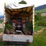 malotraktor preprava