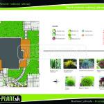 navrh rodinnej zahrady