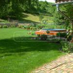 bazen v zahrade