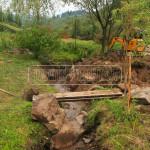 prehlbenie koryta potoka