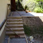 dlazdene schody