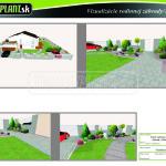 vizualizacia rodinnej zahrady