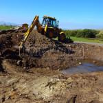 vykop na zahradne jazierko