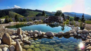 Záhradné jazierka a vodné prvky